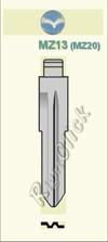 MZ13 (MZ20) Key Blank -
