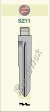 SZ11 Key Blank - Suzuki