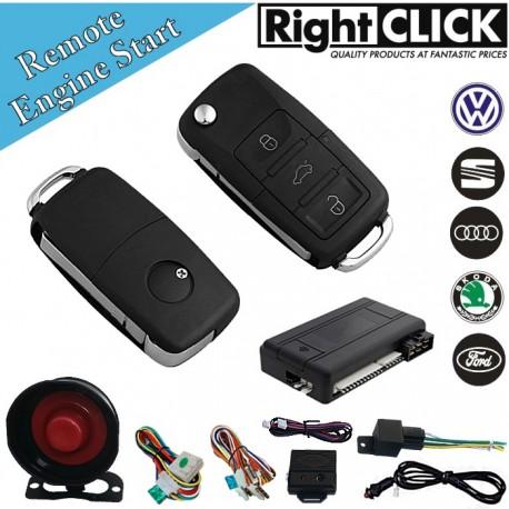 Car Alarm Remote Engine Start & Immobiliser AL851-RENG