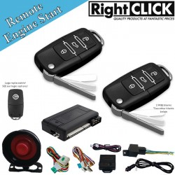 Car Alarm Remote Engine Start & Immobiliser AL669W-RENG