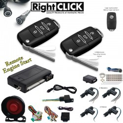 Car Alarm Remote Engine Start +Ultrasonic +4D Central Lock