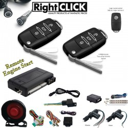 Car Alarm Remote Engine Start +Ultrasonic +2D Central Lock AL669W-RUC2D