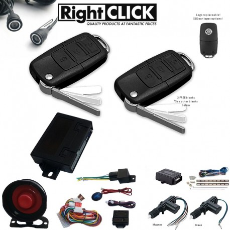 Car Alarm & Immobiliser +Ultrasonic +2D Central Lock AL669W-PUC2D