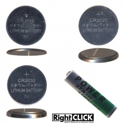 Replacement Batteries for our Remotes & Others