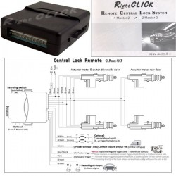Replacement For Central Locking Mainunit-CLRxxx-ULT