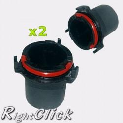 2x Vauxhall Astra MK4/G 98-04 H7 HID Bulb Holders Base Adaptors