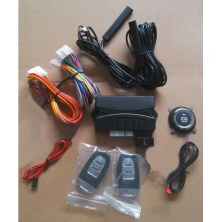 PKE Keyless Entry Push/Stop Engine Start CAR Alarm System Remote ENGINE Start