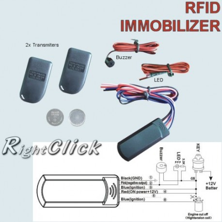 RFID Intelligent electronic Transponder Immobilizer RFID-IMES