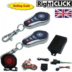 Car Alarm Remote Central Lock Immobiliser AL449HC