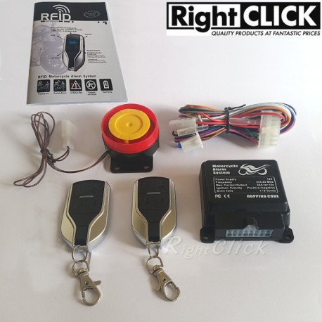 RFID Motorcycle Alarm System MCA760