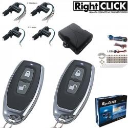 4 Door Central Locking Kit Remote Keyless CLR698-4D