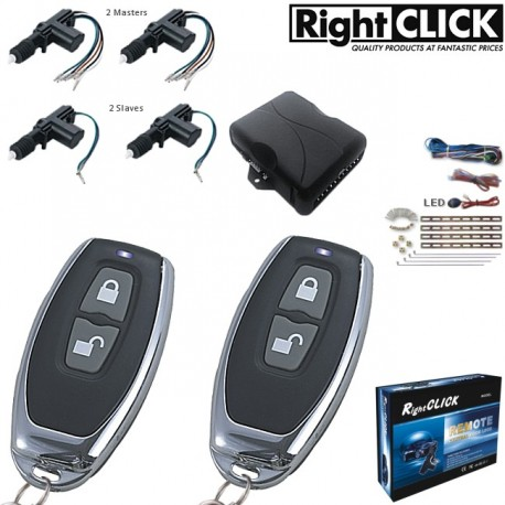 4 Door Central Locking Kit Remote Keyless CLR698-4D