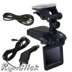 "2.5"" LCD 1280P HD Night Vision Car DVR Camera Video Recorder Motion Detect"