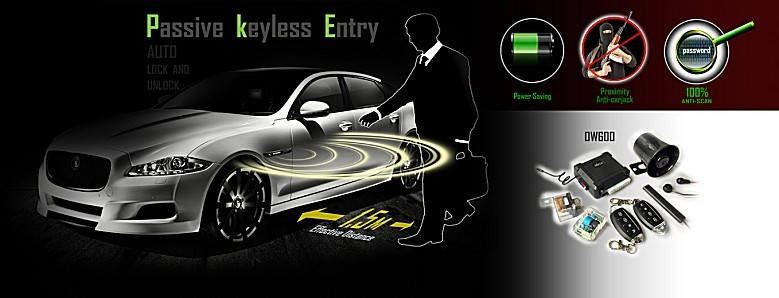 Remote Keyless Entry for car central lock